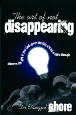 Cover for The Art of Not Disappearing