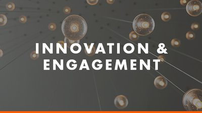Innovation and Engagement button