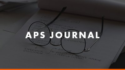 APS Journal button