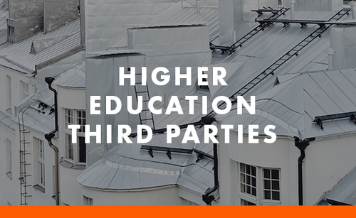 Higher Education Third Parties tile
