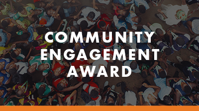 Community Engagement Award tile