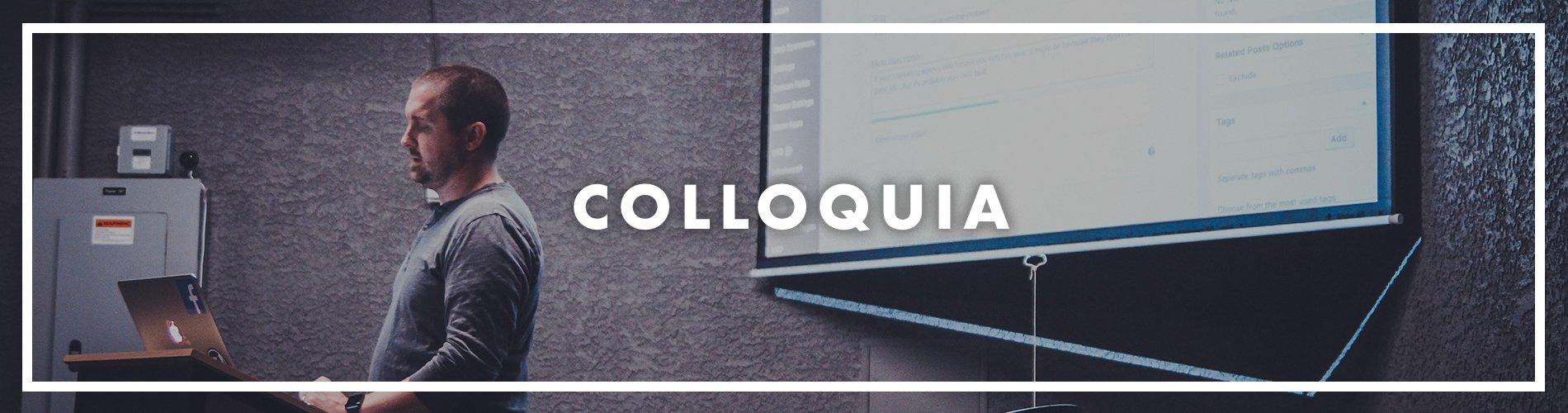 Colloquia banner
