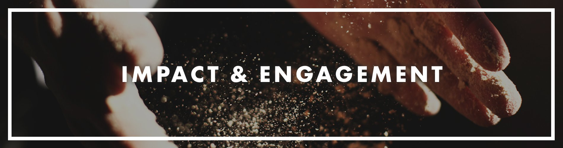 Impact and Engagement banner