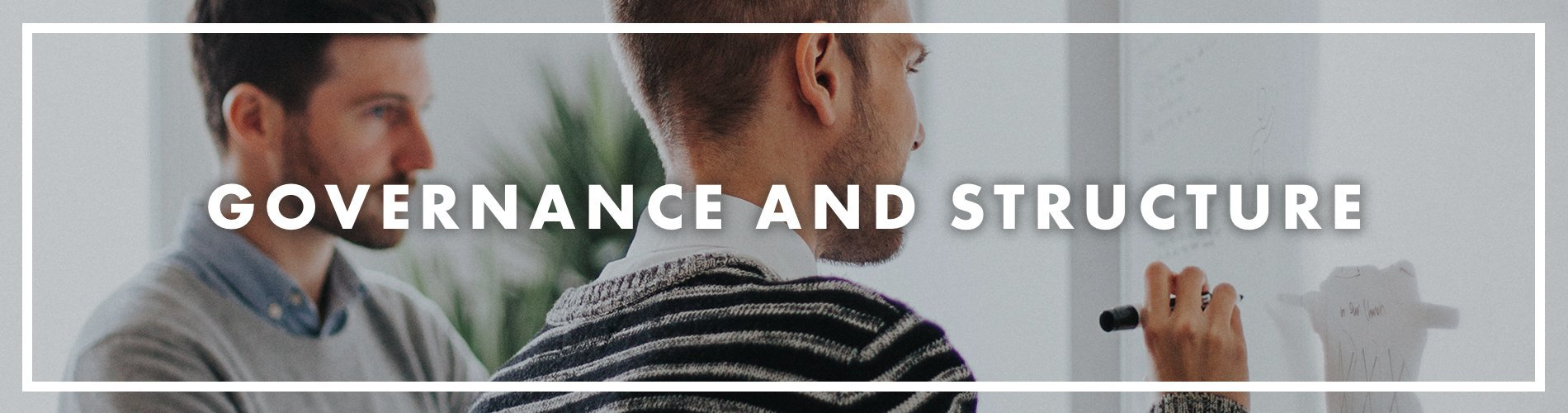 Governance and Structure banner
