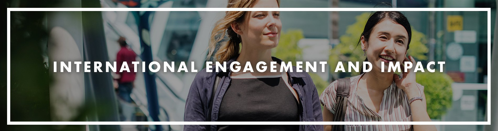Intl Engagement and Impact Header