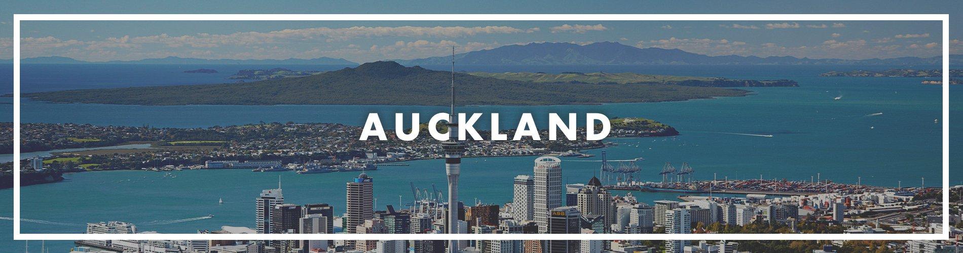 Auckland banner