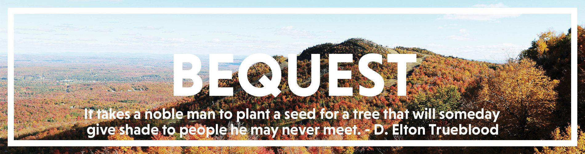 Bequest Page Banner Quote