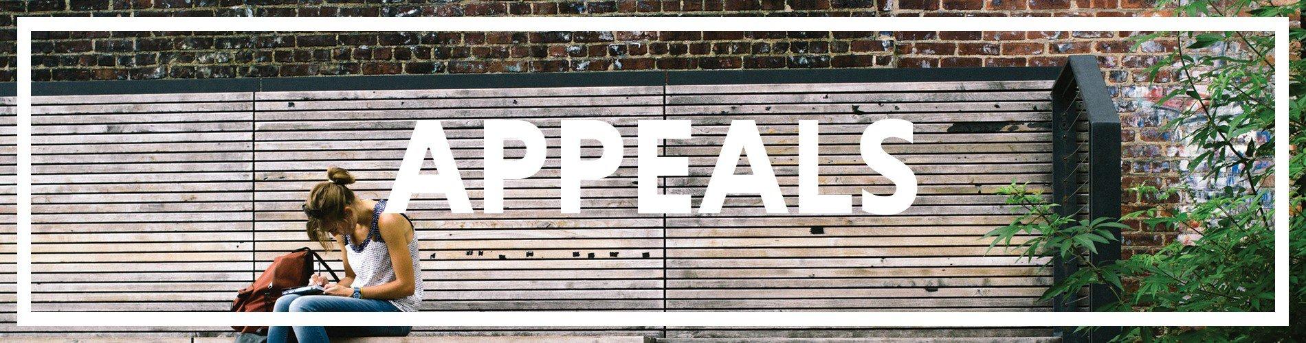 Appeals Banner