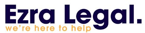 Ezra Legal logo