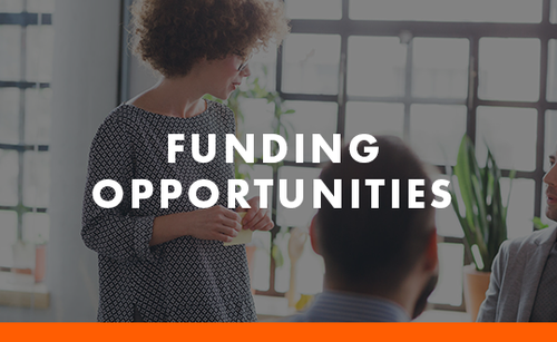 Funding Opportunities tile