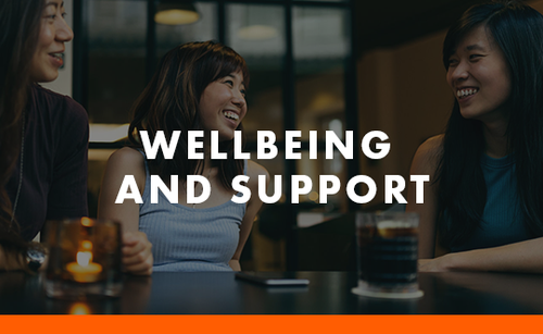 Wellbeing and Support tile