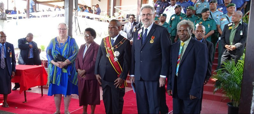 Order of Logohu Investiture