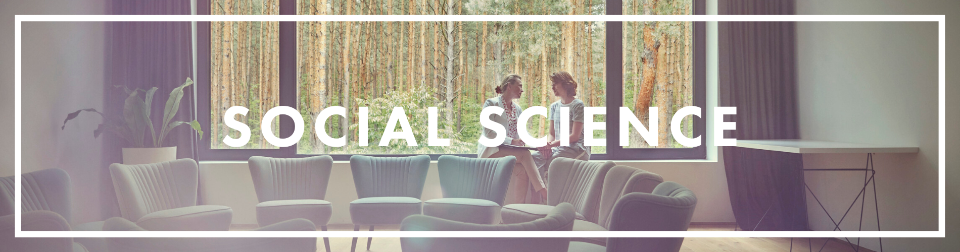 social science web banner