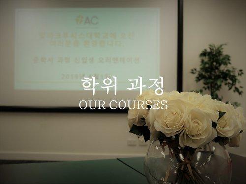 Our courses-Korean 2019