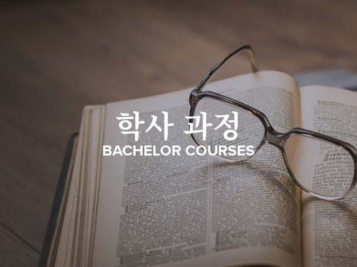 Korean Bachelor Courses Tile
