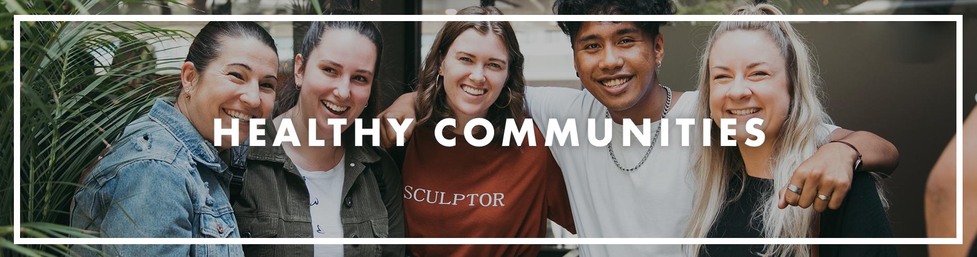 Healthy Communities Header